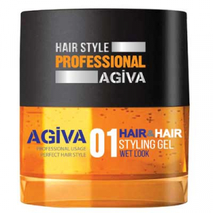 Agiva Hair Gel wet look (1) 700 ml