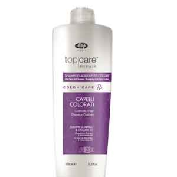 LISAP Top Care Repair Color Care After Color Acid Shampoo 1000 ml.